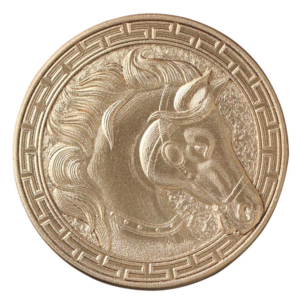 3D Coin-Girl art