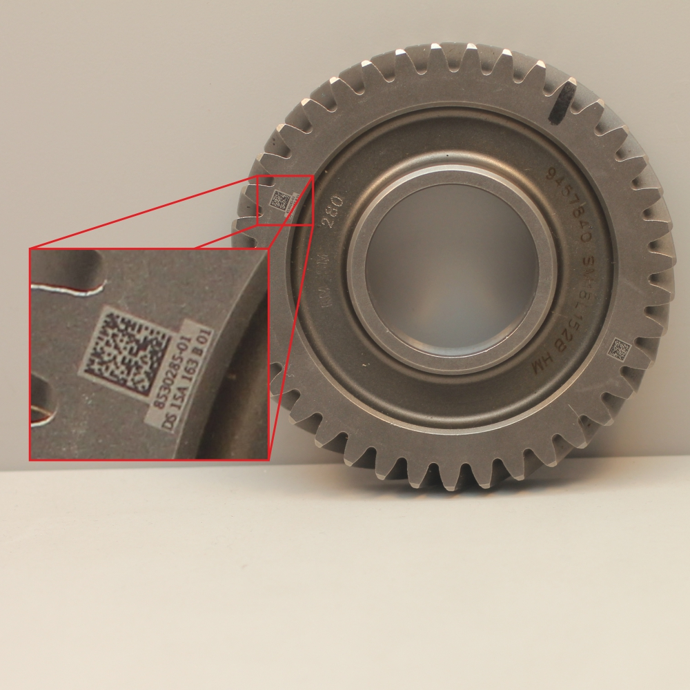 Gear Traceability on metal
