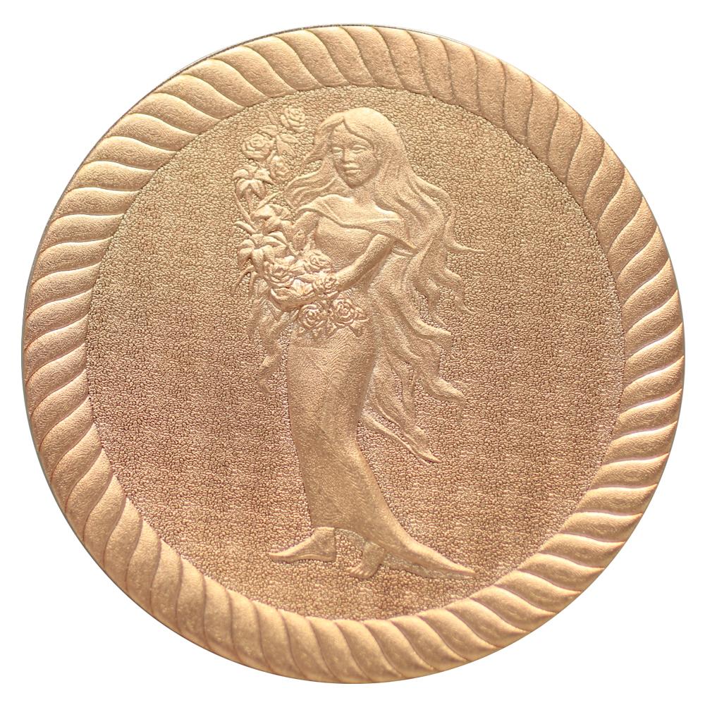 3D Coin laser engraving