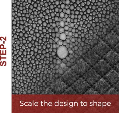 laser texturing flat surface