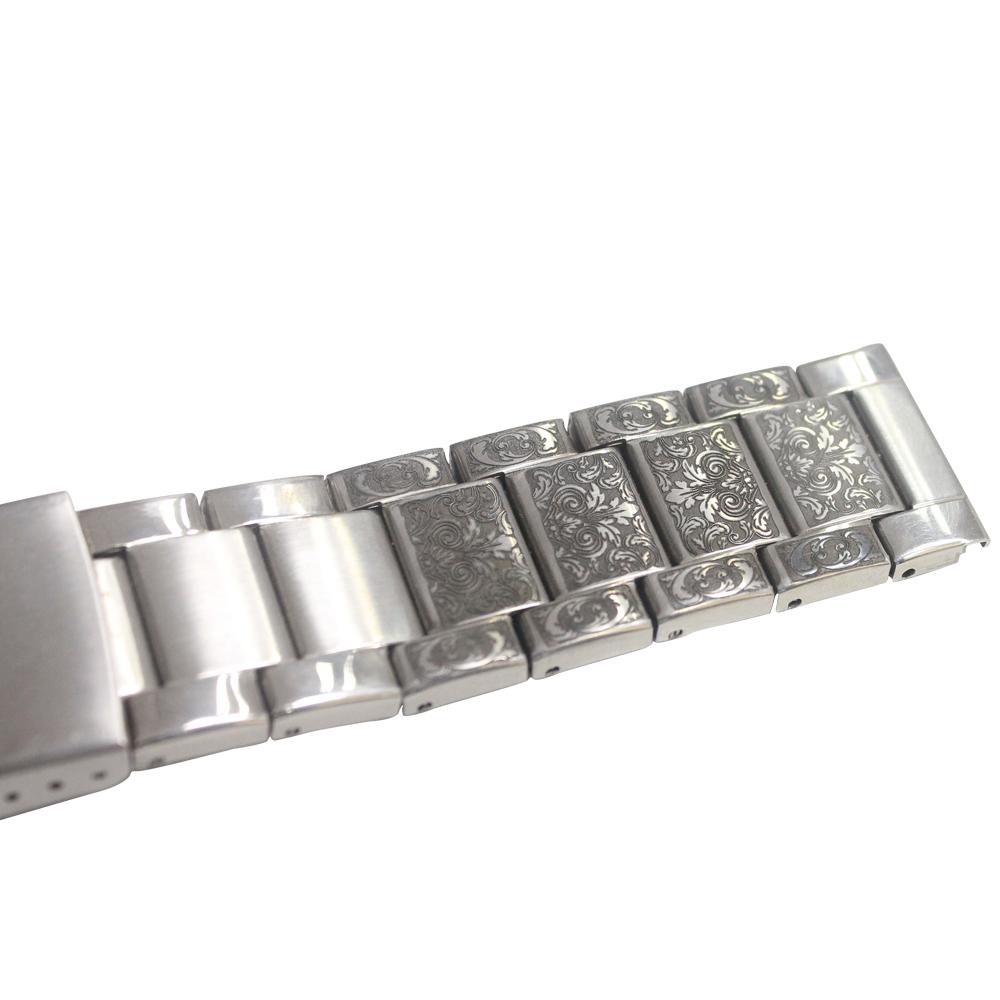 Laser marking on Watch belt