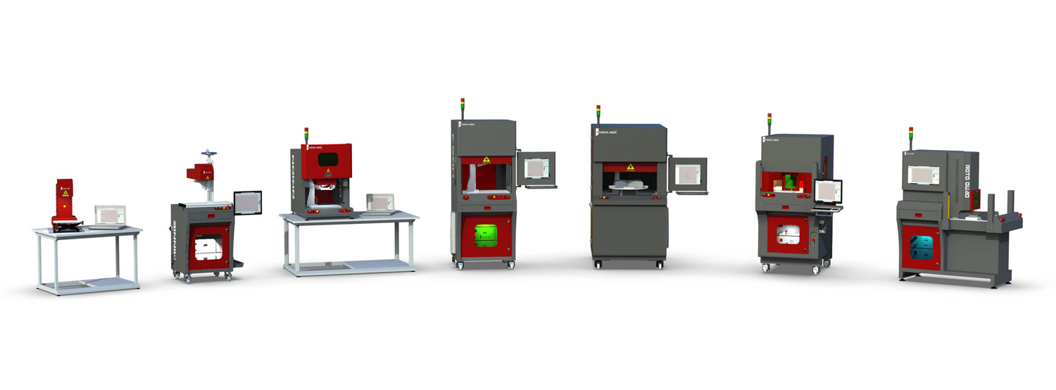 Laser marking, engraving, etching machine manufacturer in India