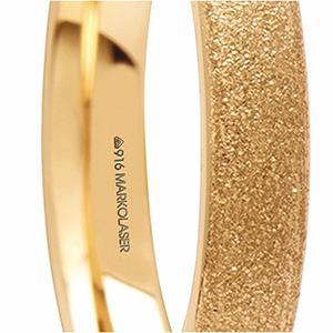 laser hallmarking on jewellery