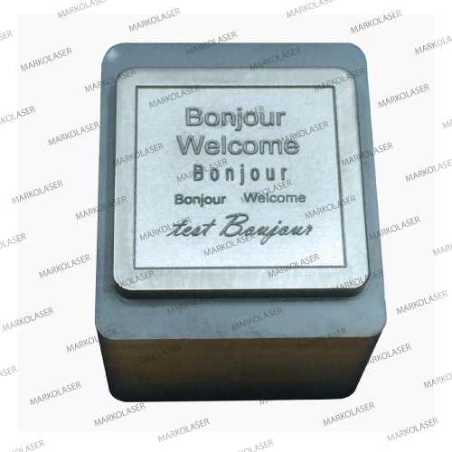 Engraving on hardened (HRC 60 – 62) cold working steel for punching