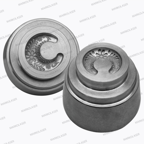 Deep Engraving of Hardened Metallic Alloys for Coin-Dies