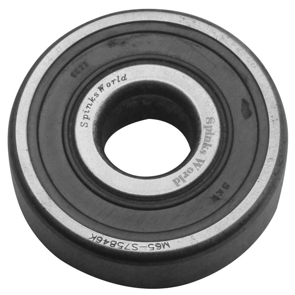 Fiber laser marking on bearing