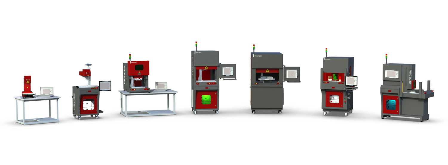 Laser marking machines family